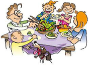 Family reunion picnic clip art free clipart images clipartandscrap