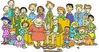 Family reunion readers theater brendan'thoughts clipart