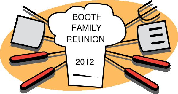 Family reunion reunion clipart
