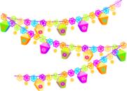 Festival christmas decorations clip art at vector clip