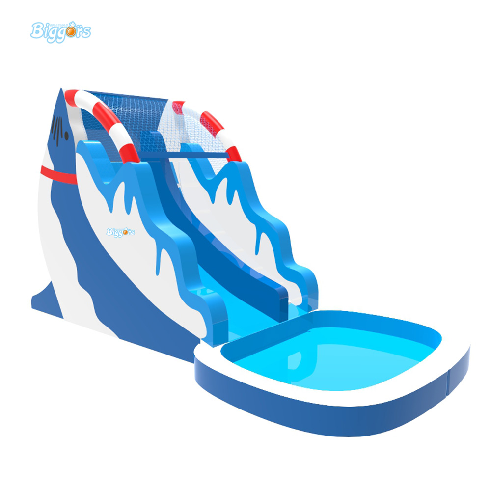 Floating clipart inflatable water slide pencil and in color