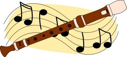 Flute clip art download