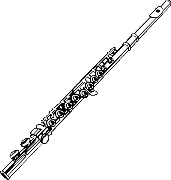 Flute clip art free clipart images
