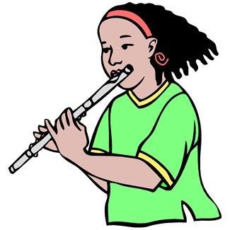 Flute clipart clip art library 3