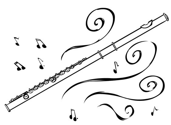Flute clipart clip art library