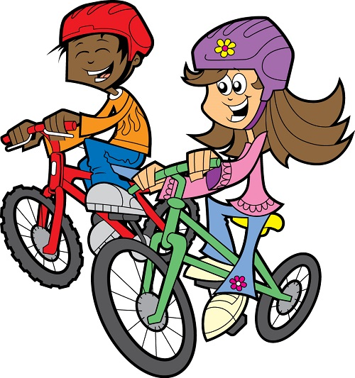 Fourth of july bike parade and safety rodeo prince peace clip art