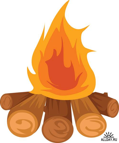 Free bonfire clipart the cliparts