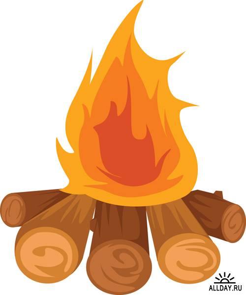 Free bonfire clipart the cliparts