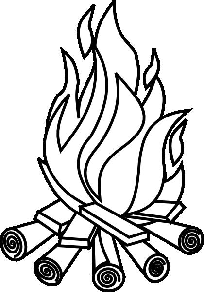 Free bonfire night clipart clip art night vector 2