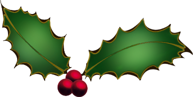 Free christmas clip art holly clipart images