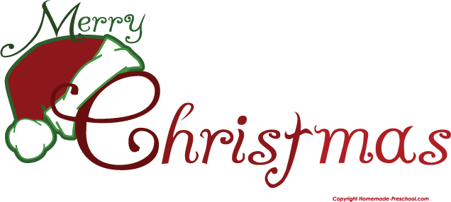 Free merry christmas clip art clipart images