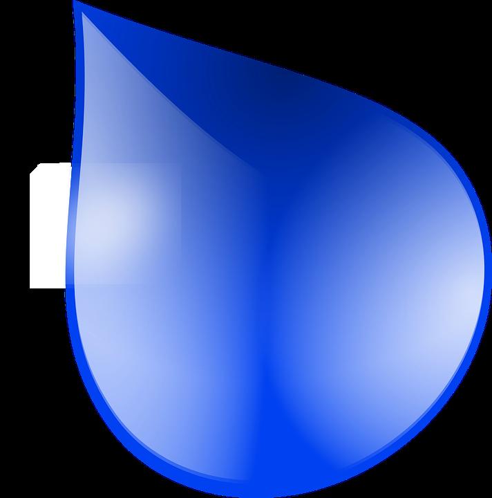 Free vector graphic liquid water rain drop raindrop clip art