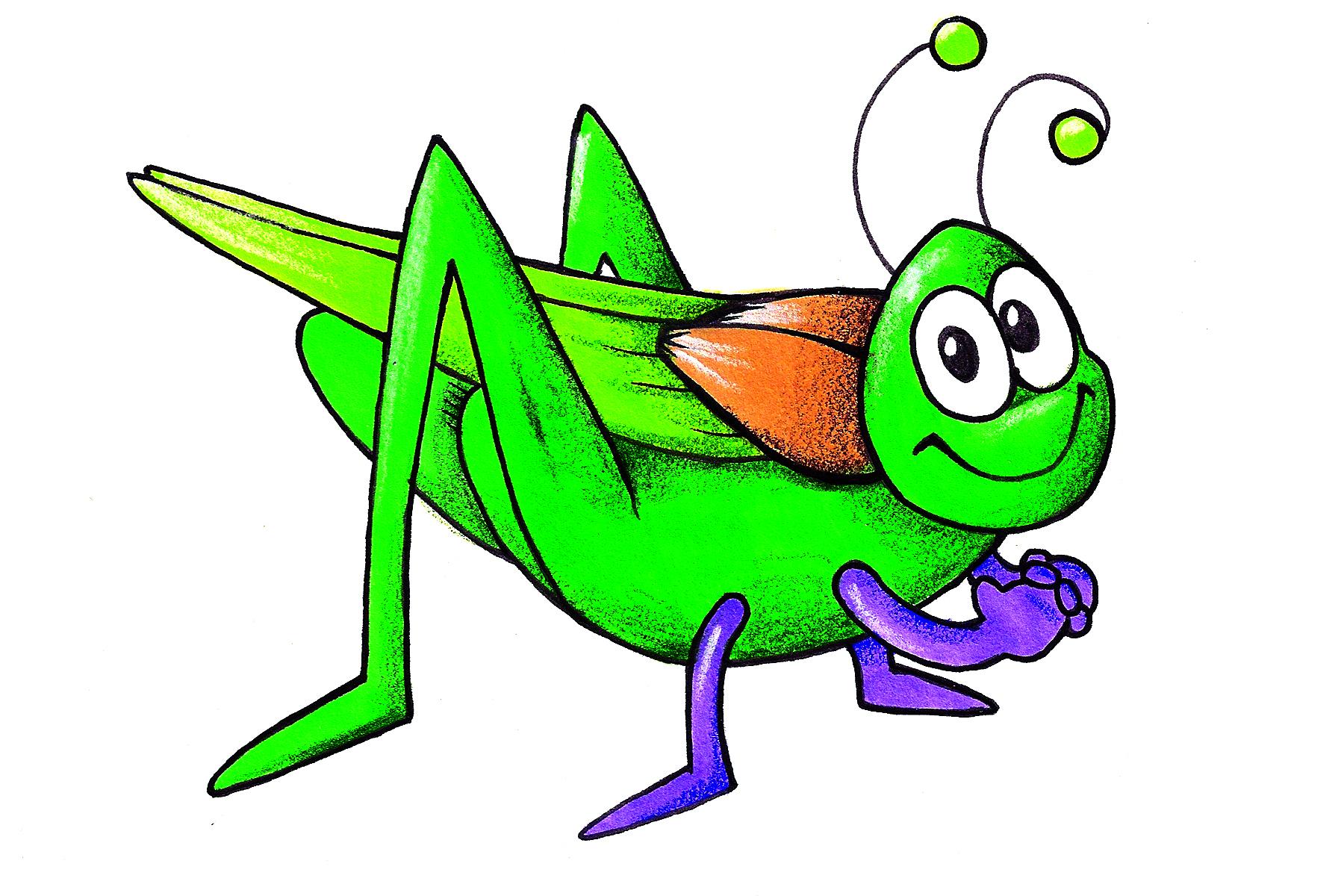 Grasshopper clipart 6
