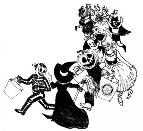 Halloween parade clipart free clipartxtras 2