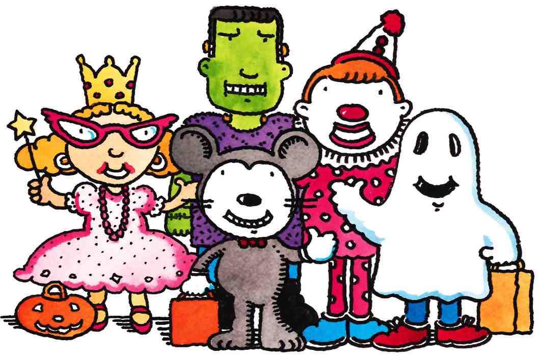 Halloween parade clipart free clipartxtras