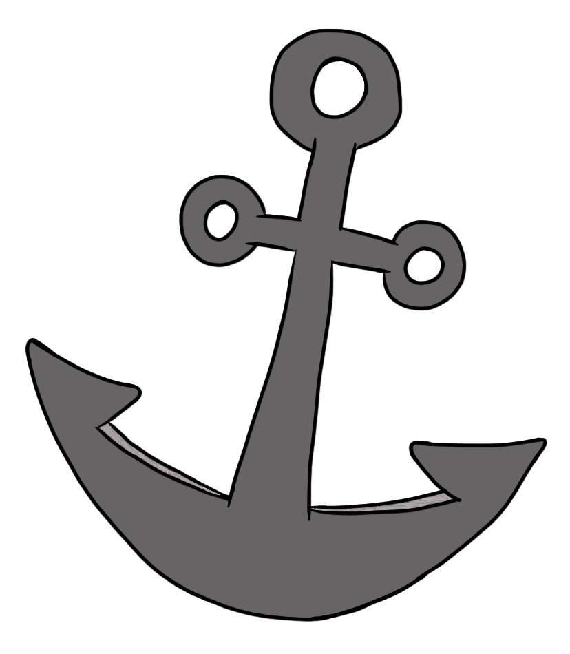 Hook cute anchor clip art free clipart images
