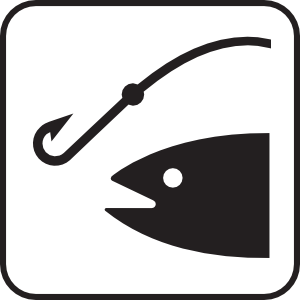 Hook fishing 1 clip art at vector clip art