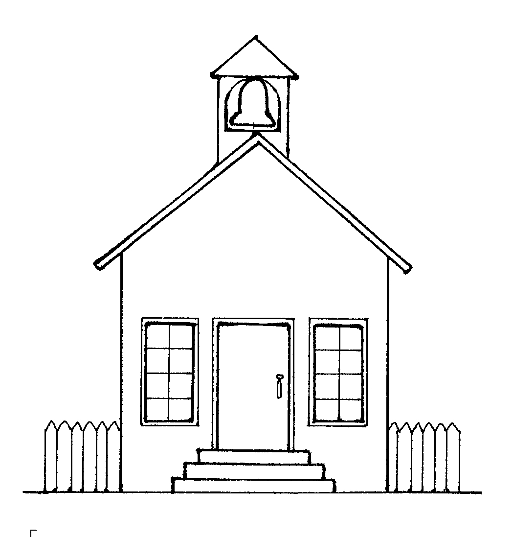 House  black and white a house clipart black and white