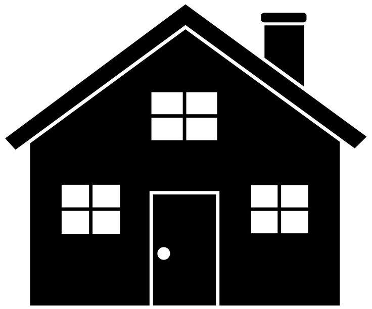 House  black and white house black and white house clip art free clipart 2