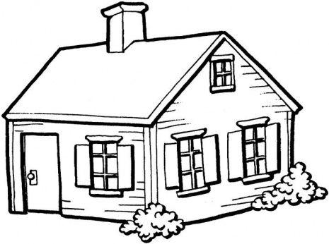 House  black and white house black and white house clipart 2 clipart