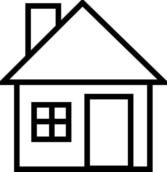 House  black and white house black and white school house clip art free