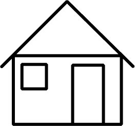 House  black and white house outline clipart black and white free the cliparts