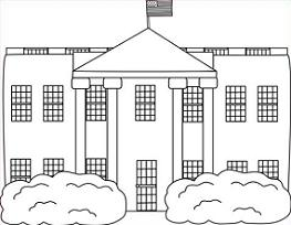House  black and white white house clipart black and clipartxtras 2