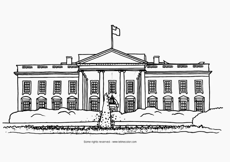 House  black and white white house clipart black and clipartxtras