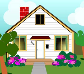 House clip art house clipart fans