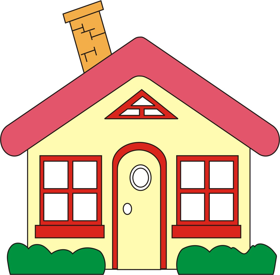 House home clipart free images 2
