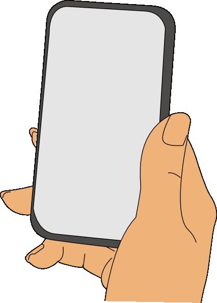 Iphone clip art at vector clip art 5
