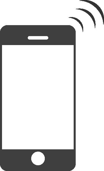 Iphone clip art at vector clip art