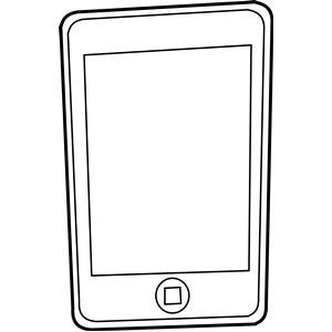 Iphone clip art free clipart images