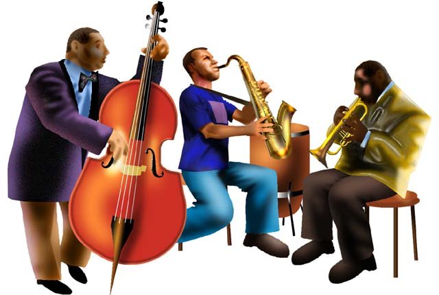 Jazz band clipart cliparts and others art inspiration