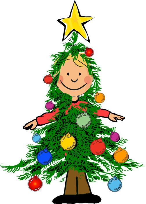 Kids christmas party clip art free clipart images