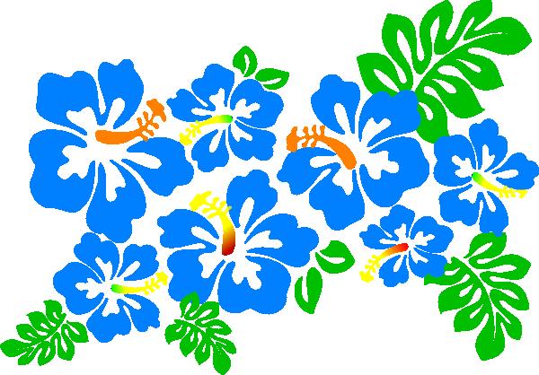 Lei hibiscus clip art at vector clip art