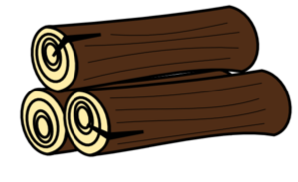 Log clip art free clipart images