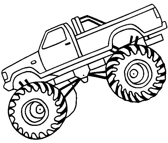 Monster truck silhouette clipart 4 clipart