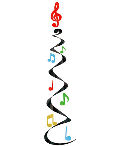Music note border 0 2