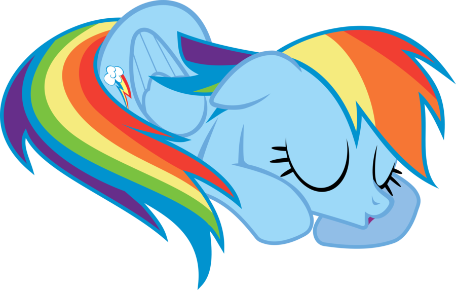 Nap time rainbow dash by uxyd on deviantart clip art