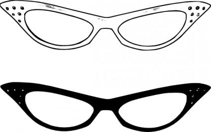 Nerd glasses clip art glasses download