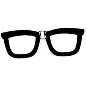 Nerd glasses clip art library