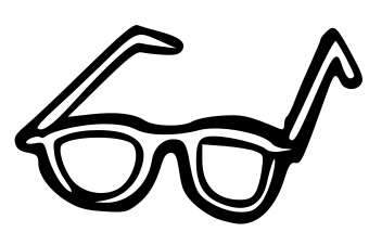 Nerd glasses clipart glasses collection movember clipart