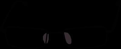 Nerd glasses geek glasses clipart nerd black with white free 2