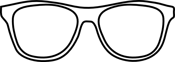 Nerd glasses glass clipart geek glass pencil and in color