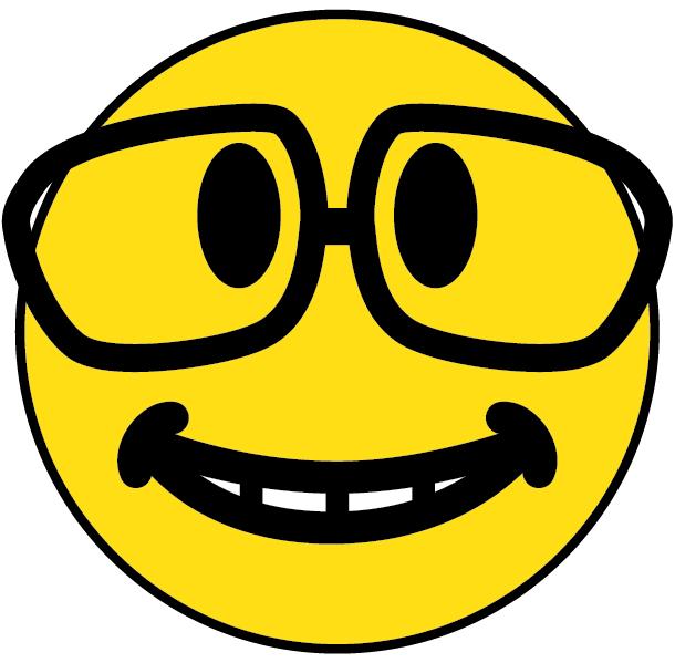 Nerd glasses nerd clipart