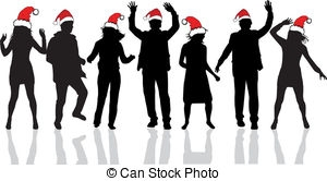 Office christmas party clipart clip art library 2