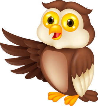 Owl reading clipart free images