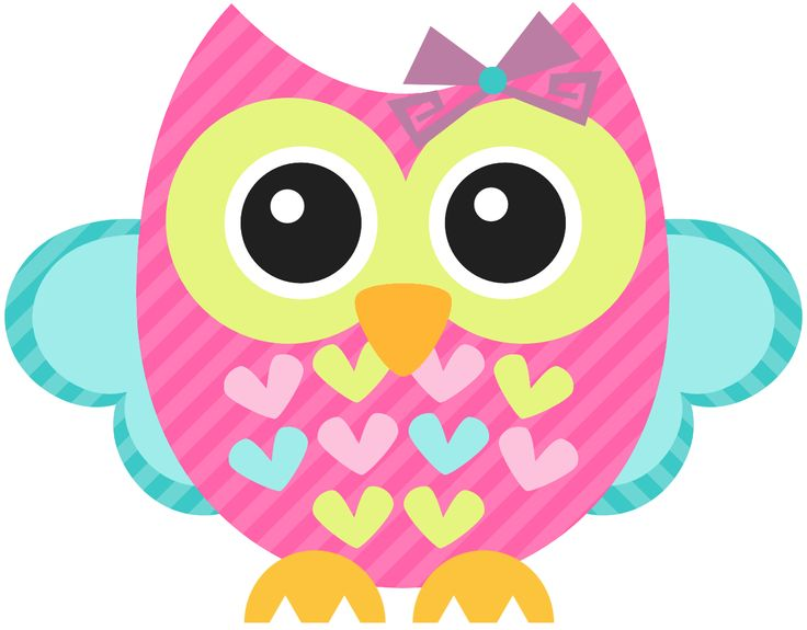Owl ruja on owl clip art and pink