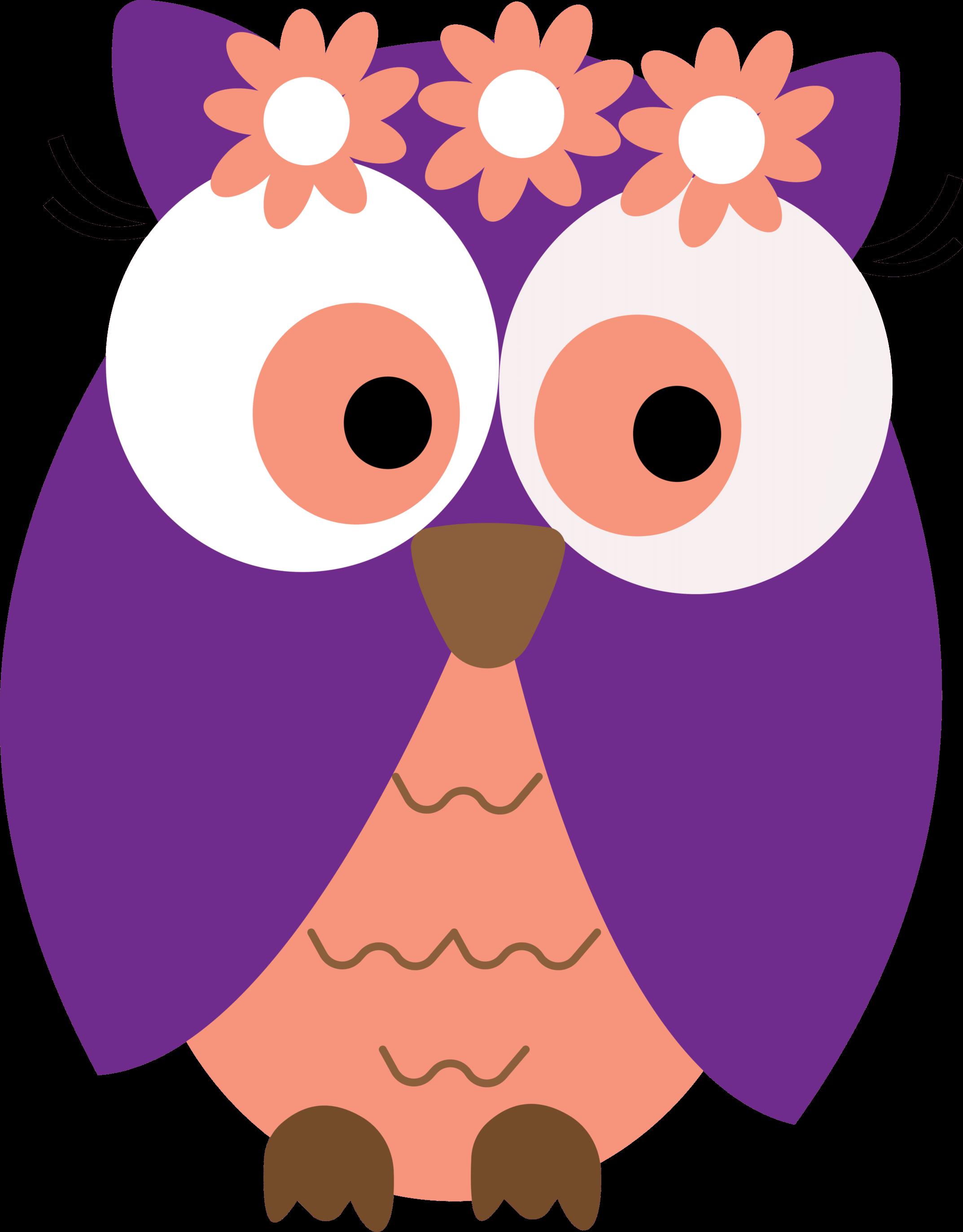 Owls on owl clip art and cartoon owls 4 clipartbarn